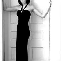 Long cool woman (In a black dress)