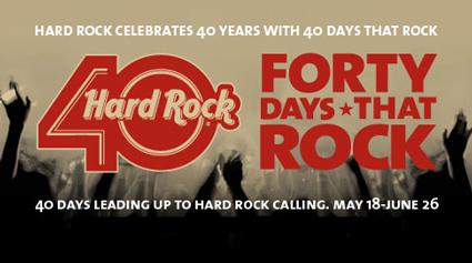 El Hard Rock Café Llega a sus 40 años.