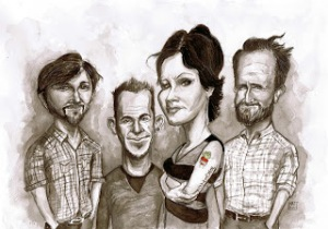 Cranberries cartoon