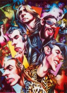 Roxy Music Cartoon