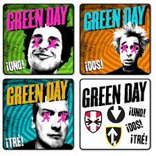 Trilogía lanzada por Green day en el 2012, esfuerzo similar al de Kiss en 1978