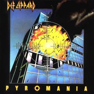 """Portada del disco """"Pyromania"""", cuya imagen es escalofriantemente similar al evento que sucedería 18 años después"""