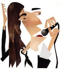 Patti Smith según el artista Stephen Kroninger