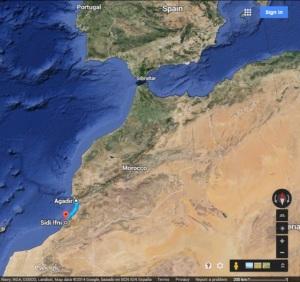 En una de las versiones acerca del la inspiración de esta canción, se habla de un viaje entre Agadir y Sidi Ifni