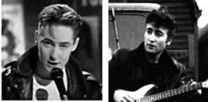 El atuendo, peinado, y tipo de guitarra utilizadas por Roddy Frame en este video, recuerdan a John Lennon de la época de Hambuurgo