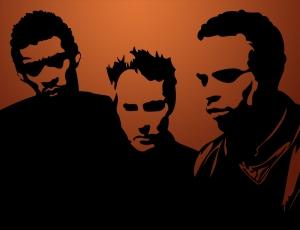 """A veces dúo, a veces trío """"Massive Attack"""" Imágen por Mnollock"""