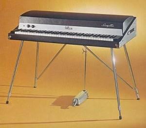 Piano eléctrico, Rhodes Fender, como el utilizado por Ray Manzarek en esta canción