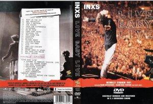 """Portada del estupendo DVD de la gira """"XS"""" de 1991, al final de la cual el grupo visitó la Ciudad de México, evento que marcó el final de la tácita prohibición de los Conciertos masivos"""